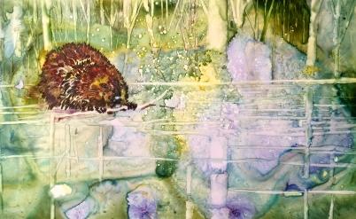 Spring Pond by Welter