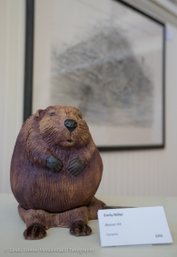 Beaver three dimensional art