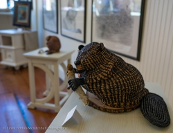 Beaver three dimensional art