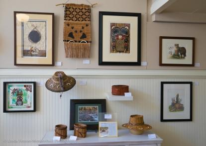 Native American Beaver themed art.